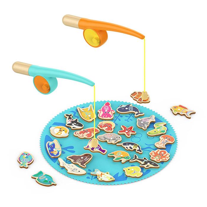TOP BRIGHT Toddler Fishing Game