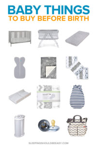 baby things to buy before birth