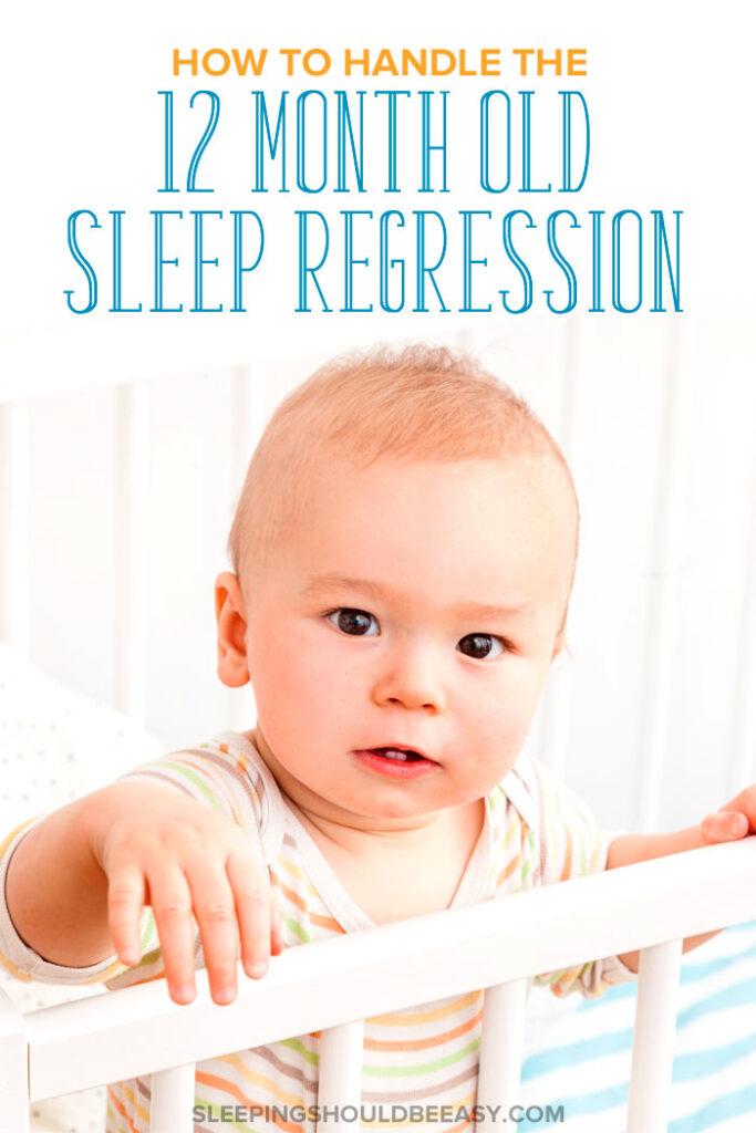 12 Month Old Sleep Regression