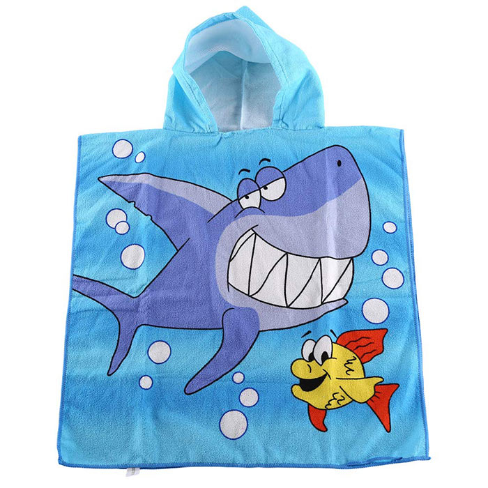 Kids Hooded Beach Bath Towel