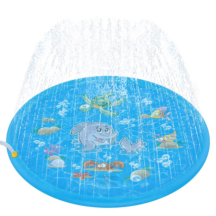 Tobeape splash play mat