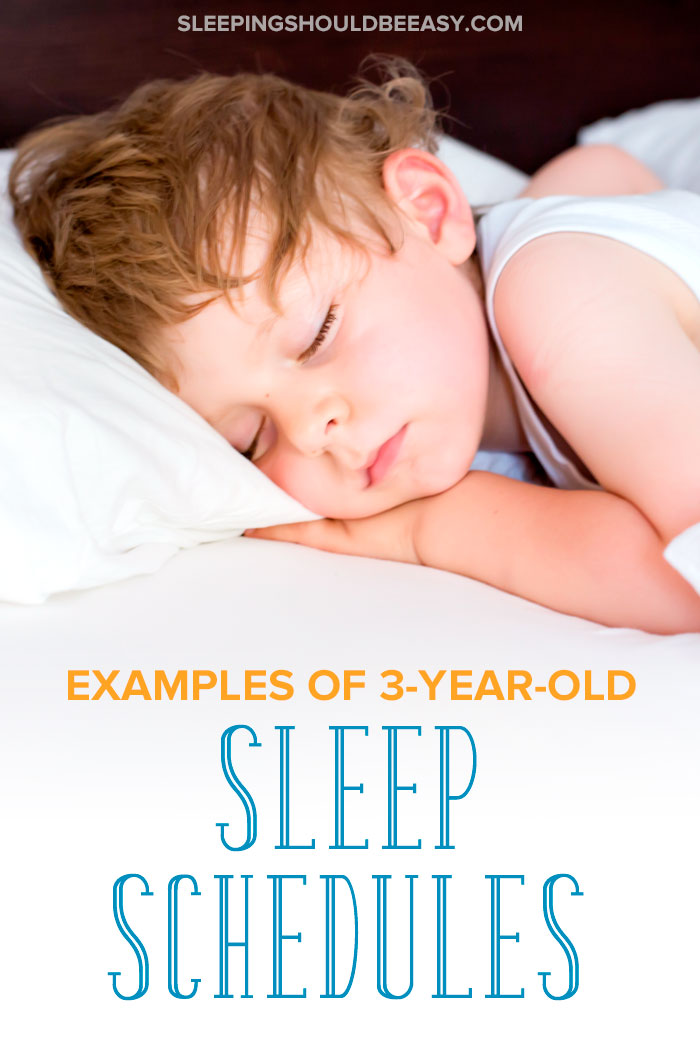 little boy sleeping using a 3 year old sleep schedule