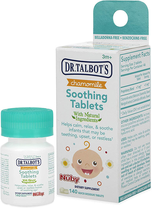 Dr. Talbot's Chamomile Soothing Tablets