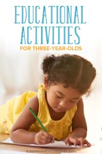 Top Educational Activities for 3 Year Olds
