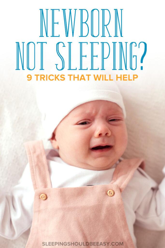 newborn not sleeping
