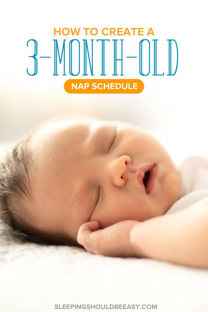 3 Month Old Nap Schedule