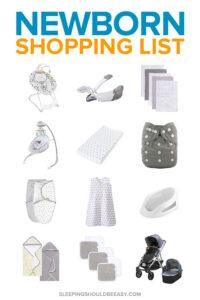 Newborn Shopping List