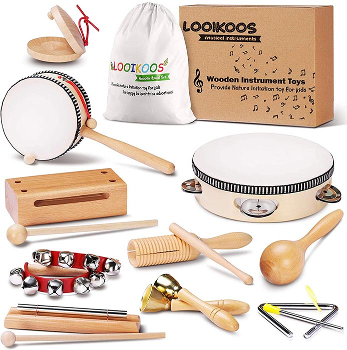 LOOIKOOS Toddler Musical Instruments