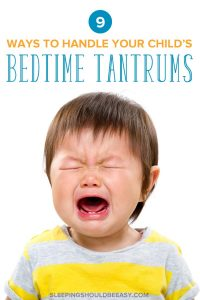 2 year old bedtime tantrums