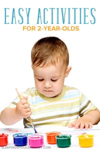 Easy activities for 2 year olds