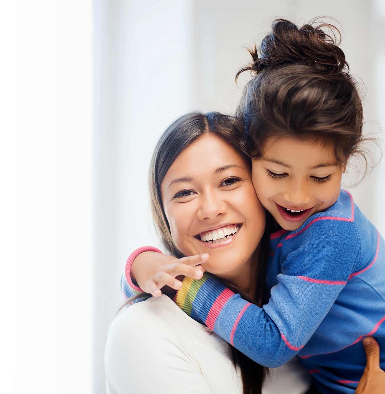 Motherhood can feel happy