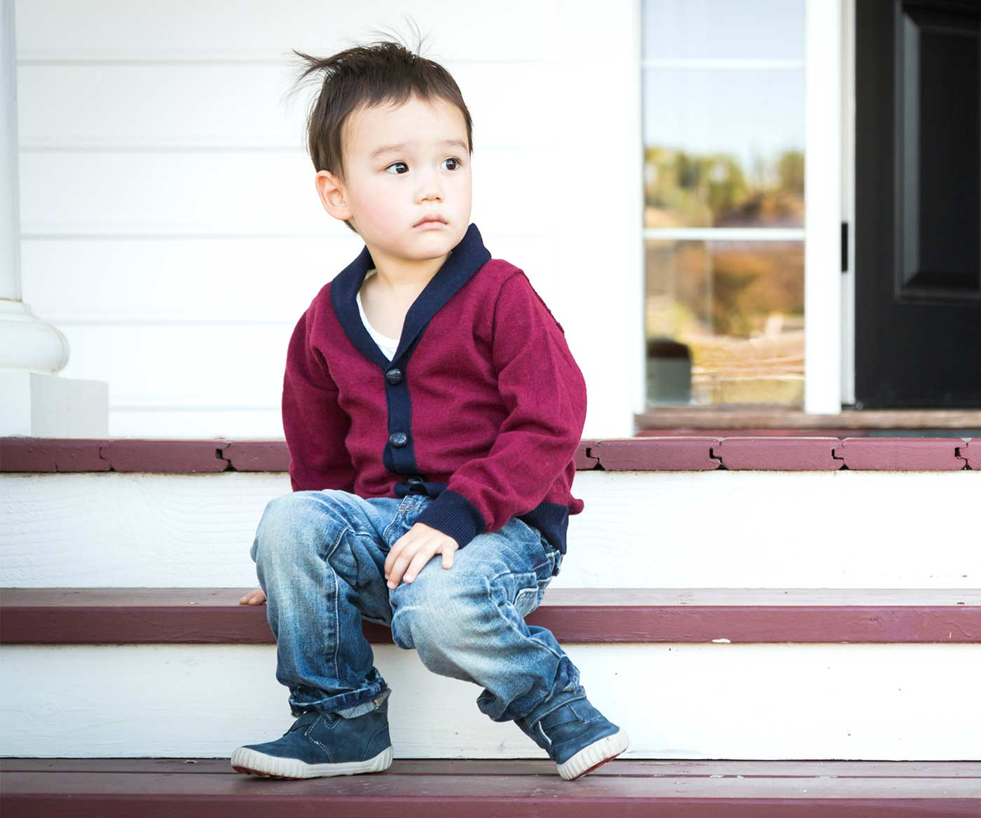Sad little boy: Why every parent needs to show empathy