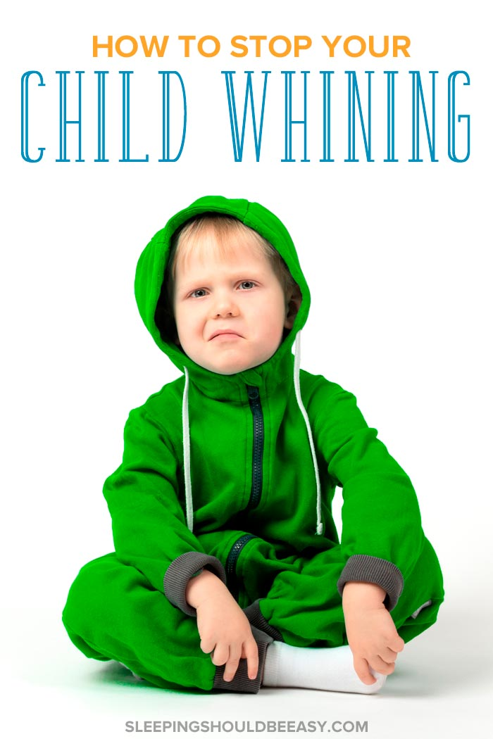 2 year old whining