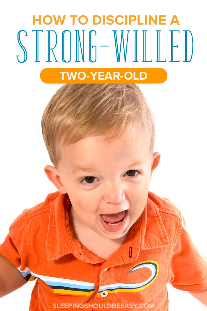 How to discipline a strong willed 2 year old