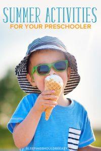 Preschool Outdoor Activities for Summer