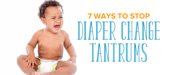 diaper change tantrums