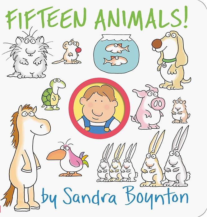 Fifteen Animals! by Sandra Boynton