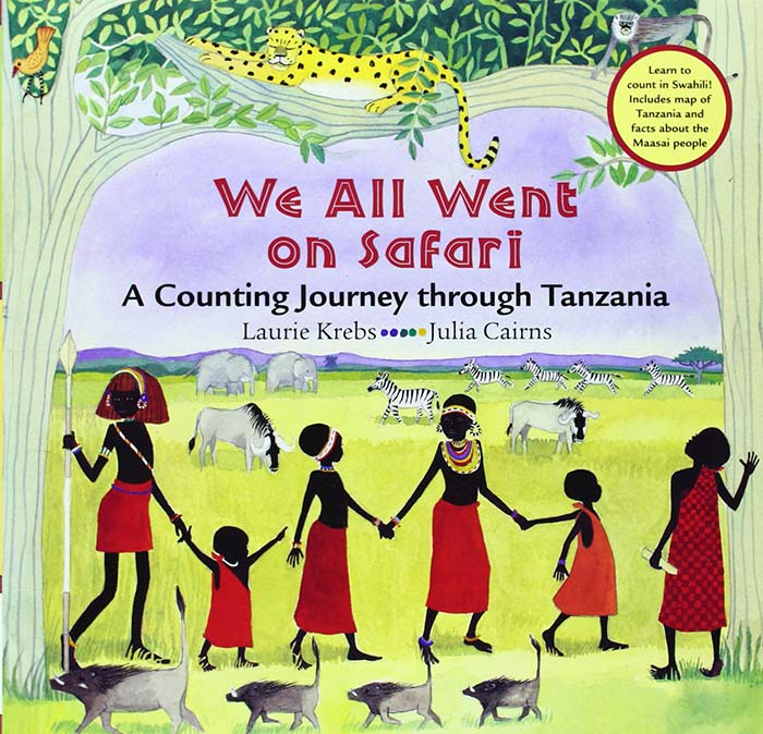 We All Went on Safari by by Laurie Krebs and Julia Cairns