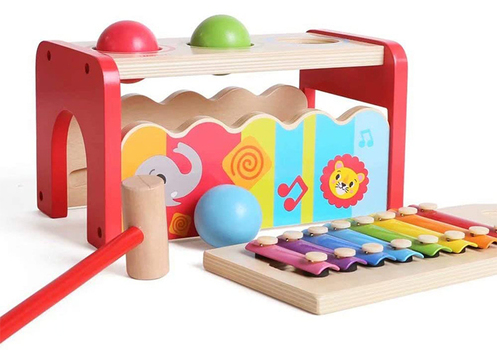 iwood Hammering&Pounding Wooden Toy