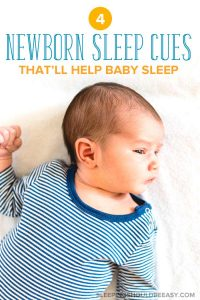 newborn sleep cues