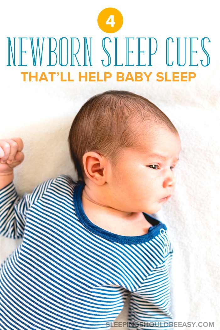 newborn sleep cues