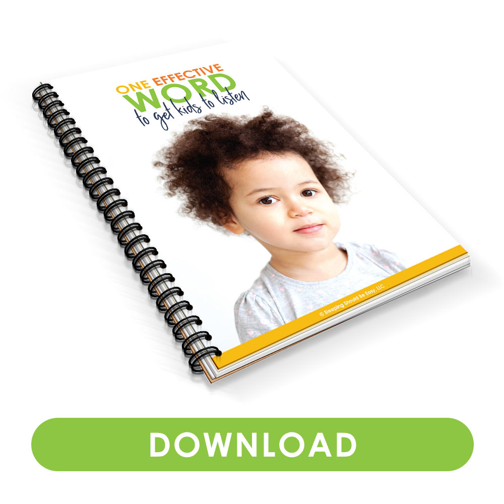 Download One Effective Word to Get Kids to Listen