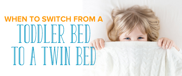 toddler bed to a twin bed