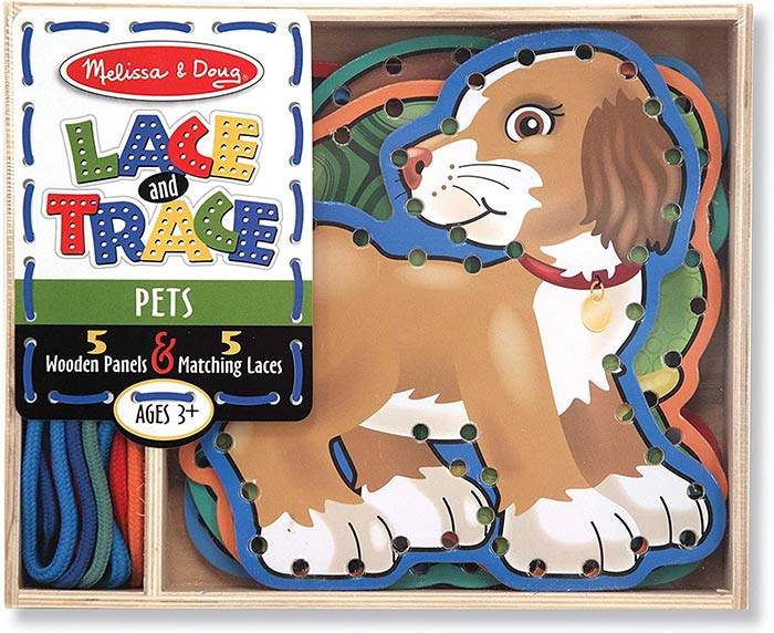 Melissa & Doug Lace and Trace Pets Activity Set