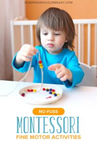 Montessori Fine Motor Activities