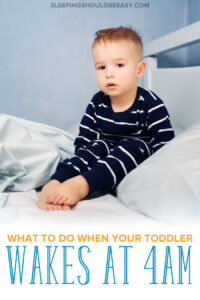 Toddler Waking Up at 4am