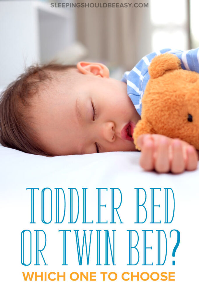 Toddler bed vs twin bed
