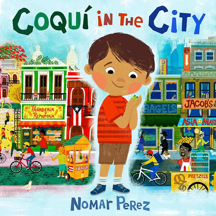 Coquí in the City by Nomar Perez