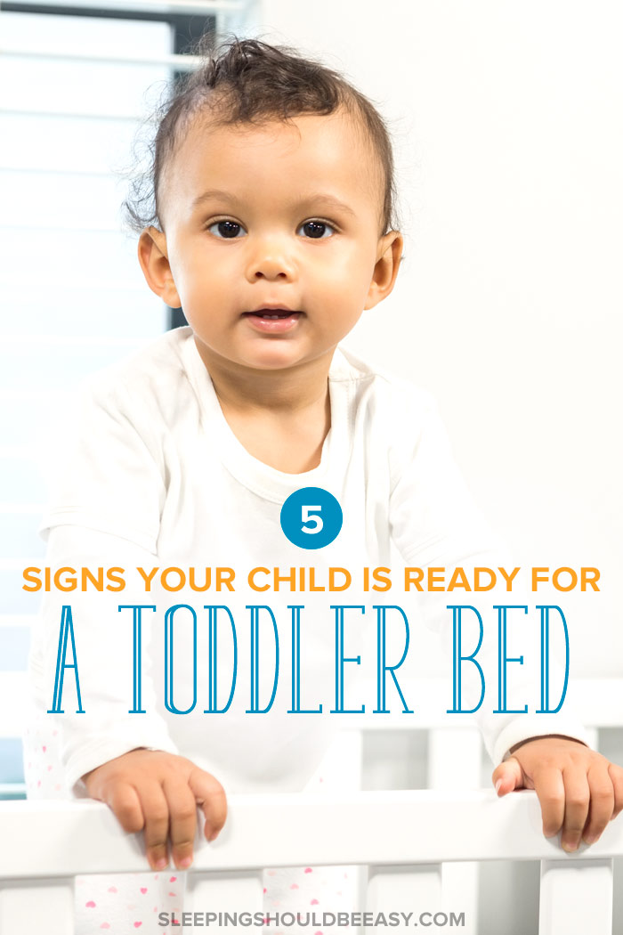 5 Signs Your Child Is Ready for a Toddler Bed