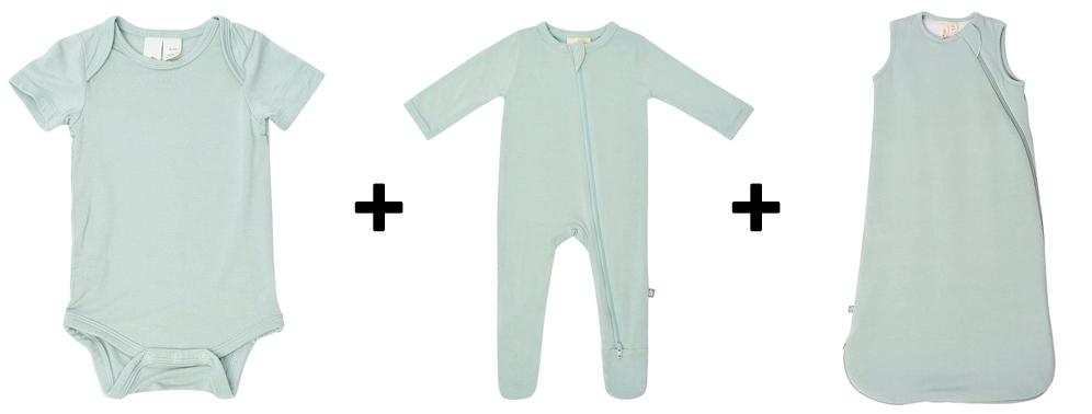 bodysuit, footed pajamas, sleep bag