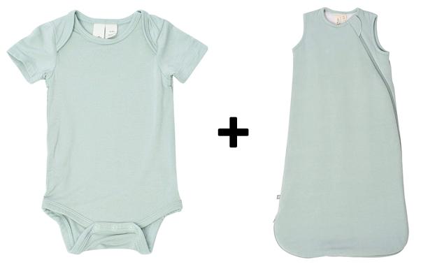 bodysuit and sleep bag