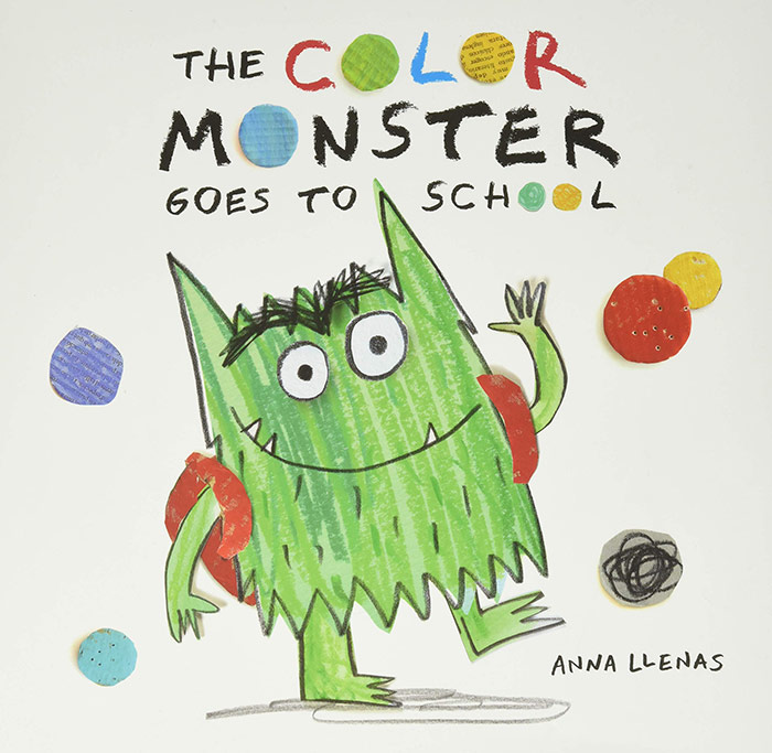 The Color Monster Goes to School by Anna Llenas
