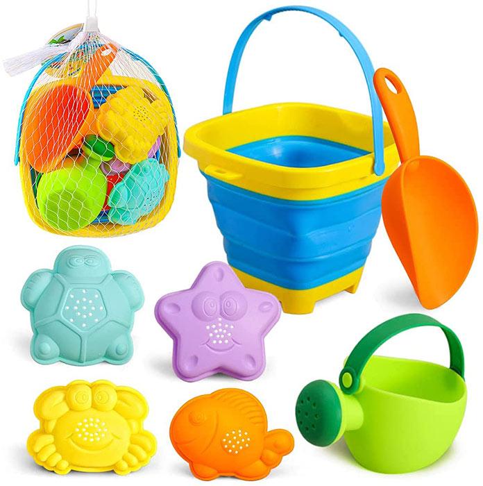 3 otters Sand Toys Set
