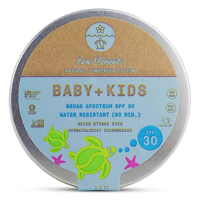 Raw Elements Kids Organic Sunscreen