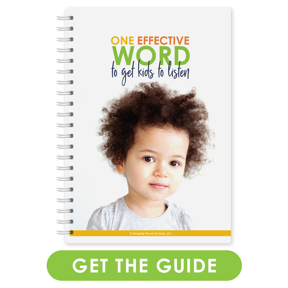 One Effective Word to Get Your Child to Listen