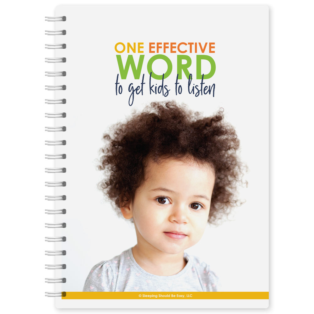 One Effective Word to Get Kids to Listen