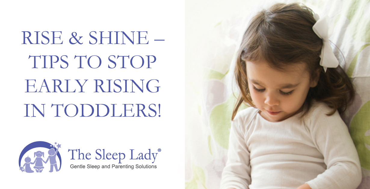 early rising toddler