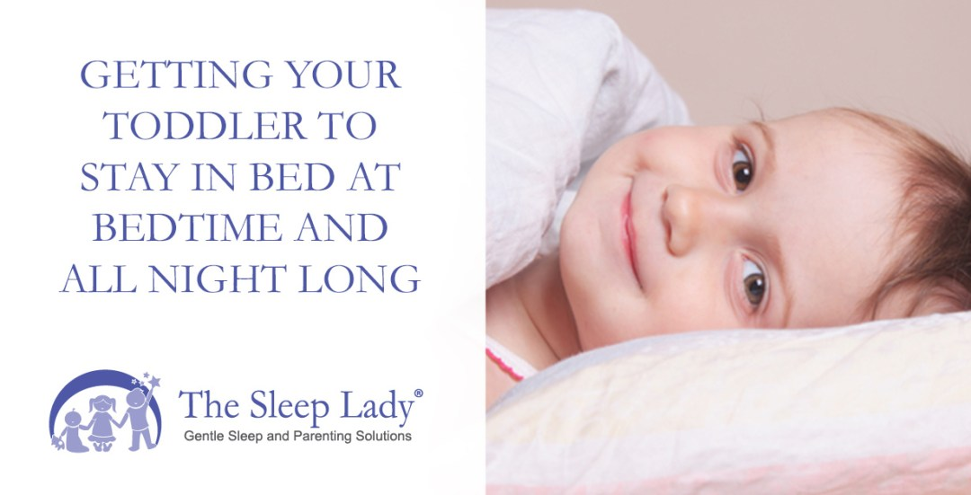 getting your toddler to stay in bed