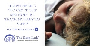 Help I Need A No Cry It Out Method To Teach My Baby To Sleep