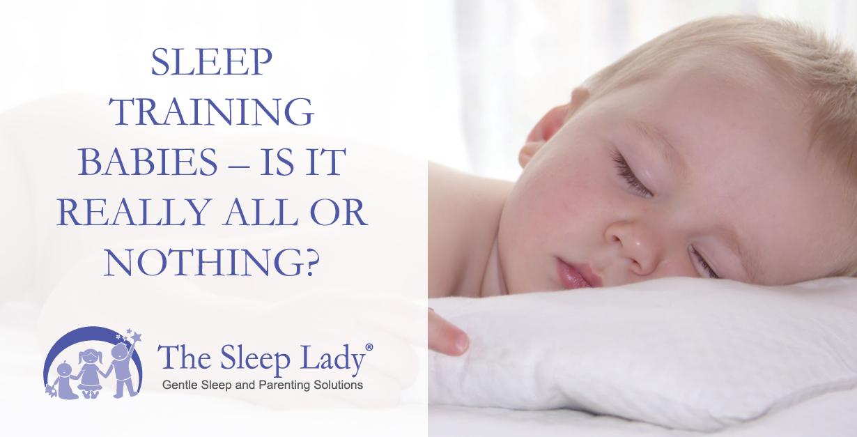 sleep training babies