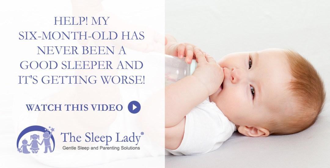 six-month-old sleep