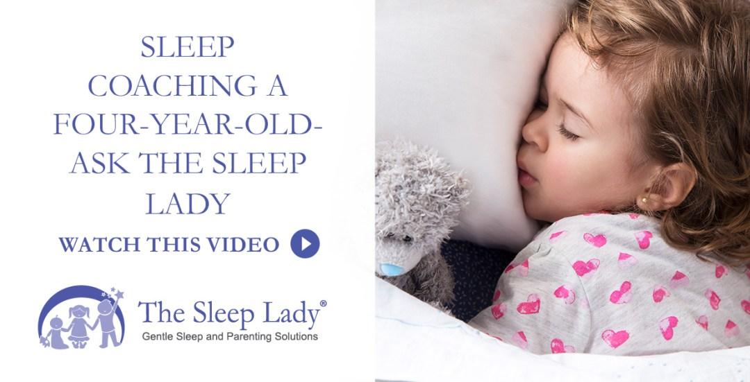 sleep coaching a four-year-old