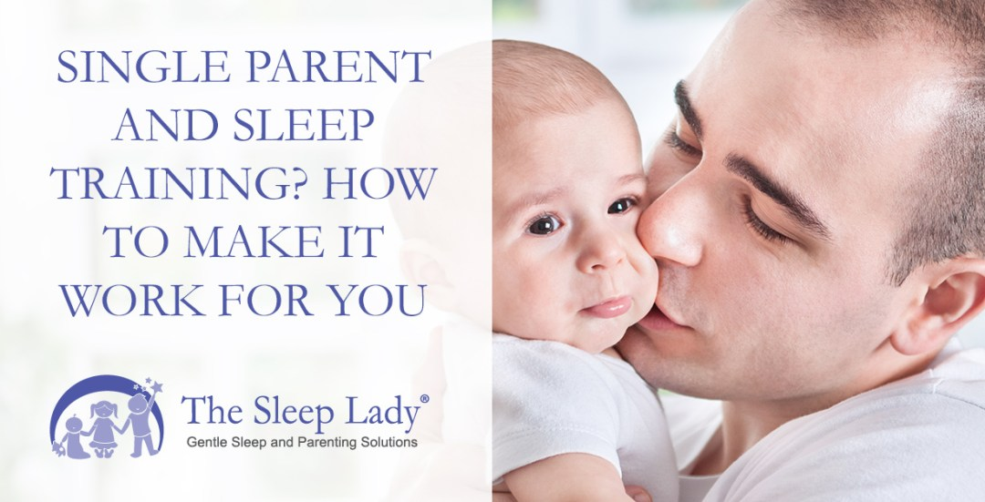 single parent and sleep training