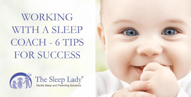 working with a sleep coach