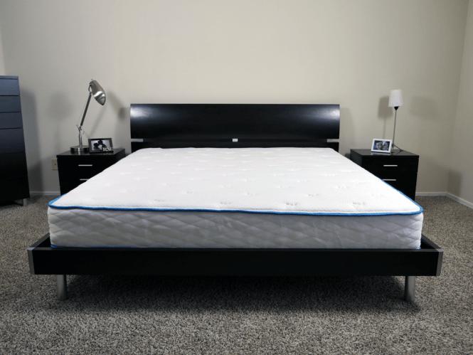 Arctic Dreams Mattress King Size Platform Bed