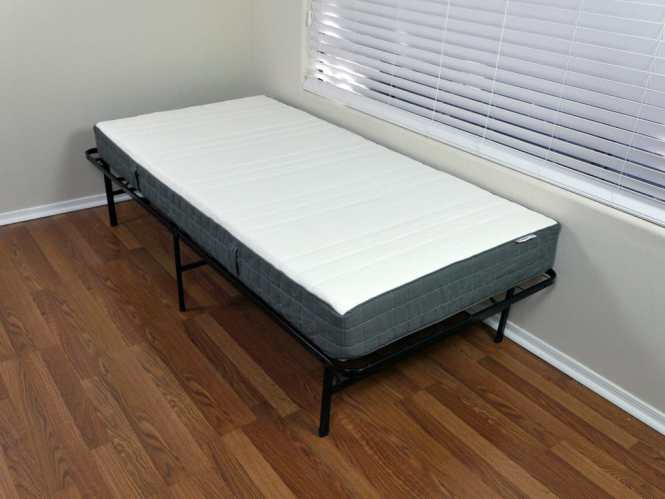 Angled View Of The Morgedal Mattress